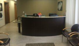 Homewood location reception area