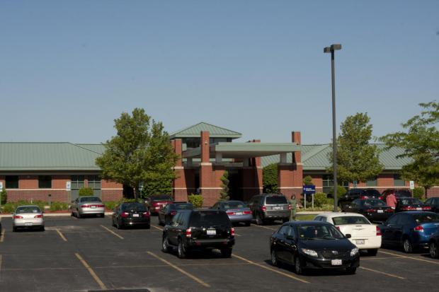 Arbor Merrionette Park outside of office building